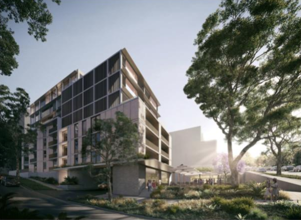LEPC9 lodges DA in masterplan-approved urban community at former Nine site in Willoughby